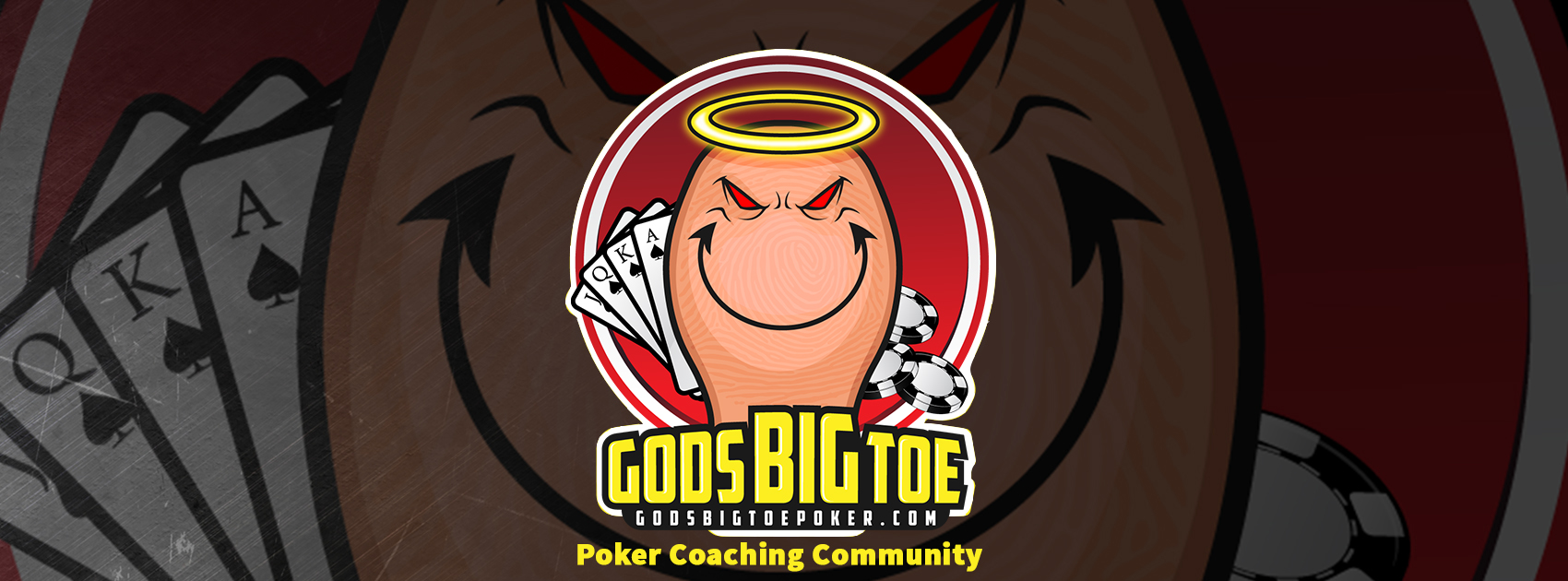 God's Big Toe Poker Logo